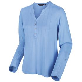 Regatta FFlur Camiseta Manga Larga Mujer, azul